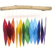 Gift Essentials Glass Rainbow Wind Chime